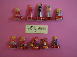 Serie Complète 10 Fèves En Porcelaine - SPIROU 2011 ( Feve Miniature Figurine ) - BD