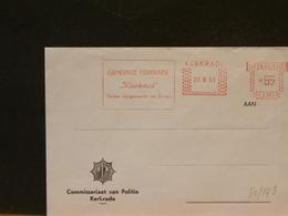 80/143  BRIEF KERKRADE  1981 - Period 1980-... (Beatrix)