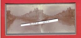 LILLE NORD 10 AVRIL 1914 LA BASSE DEULE VUE DERRIERE LE MARCHE SAINT MARTIN PHOTOGRAPHIE STEREOSCOPIQUE - Photos Stéréoscopiques