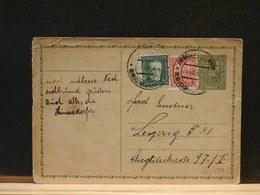 80/151 CP   CESKOSL.  POUR LIEPZIG - Postal Stationery