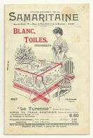 CATALOGUE MODE LA SAMARITAINE 1907 - 14 PAGES (TRES RARE) - Catalogues