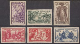 Du N° 119 Au N° 124 - X X - ( C 833 ) - Guinée Française (1892-1944)