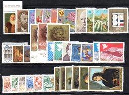 YUG1977 - YUGOSLAVIA 1977, L'annata Di Commemorativi Senza BF : Composizione Come Da Scan ***  MNH - Jugoslavia