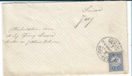 Tur169 /  Brief, Türkei, Kadi-Kevi 191, Klarer Stempel, An Den Direktor Der Gotthardbahn In Zug/Schweiz - 1858-1921 Impero Ottomano