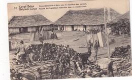 CONGO BELGE    ENTIER POSTAL CARTE ILLUSTREE - Stamped Stationery