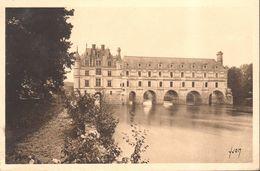 CPA - France - (37) Indre Et Loire - Chenonceaux - Le Château, Façade Ouest - Chenonceaux