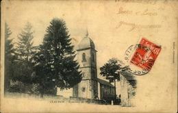 N°1389 RRR AL CLAUDON EXTERIEUR DE L EGLISE - Altri Comuni