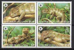 Iles SALOMON  Timbres Neufs ** De 2005  (ref  5697A )  Animaux - Reptiles - WWF - Salomon (Iles 1978-...)