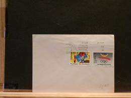 80/163  FDC  ESPAGNE - Handicaps