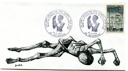 Déportation - Camps De Concentration - Bureau Temporaire Besançon Du 27 Avril 1975 - X 205 - WW2