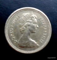 Monnaie - Grande-Bretagne - 1 Pound 1984 - 1971-…: Dezimalwährungen