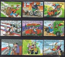 Iles SAINT VINCENT & GRENADINES Timbres Neufs ** De 1995  (ref  5700 )  Disney - St.Vincent & Grenadines