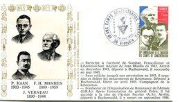 Déportation - Camps De Concentration - Bureau Temporaire Grenoble Du 27 & 28 Avril 1985 - X 212 - WW2