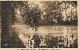 72 - La FLECHE - Le Grand Etang Du Parc Public - La Fleche