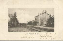 Avoudrey (Doubs) - La Gare - France
