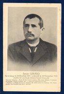 Emile Gérard ( 1851- 1916- Liège). Poète Et Auteur Dramatique Wallon. - Ecrivains