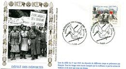 Déportation - Camps De Concentration - PJ Paris Du 24 Avril 2005 - X 222 - WW2