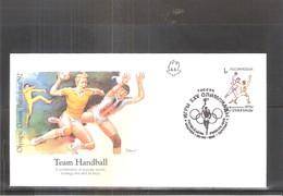 Team Hand-Ball - FDC Olympic Games Barcelona 92 - Hand-Ball