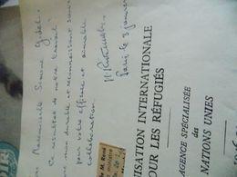 René Ristelhueber .ancien Ministre De France Au CANADA.MIGRATION D EUROPE..DEDICACES SIGNE 1950 - Livres, BD, Revues