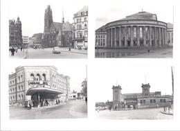 4  Bilder  ORIGINAL  Von  Saarbrücken   Aus Dem Jahre 1952 - Orte