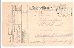 WO1 Feldpost. 403 - 1. Weltkrieg