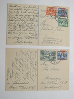 1939 , 2 Briefkaart A Duitsland - Entiers Postaux