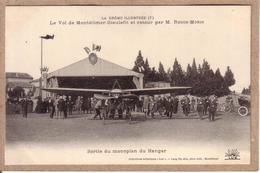 DRÔME -  AVIATION - VOL MONTELIMAR DIEULEFIT 9 MAI 1912 AVIATEUR ROGER MORIN , BLERIOT - SERIE DE 12 CARTES POSTALES - Montelimar
