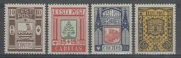 ESTONIE:  N°154/157 ** (+50%)      - Cote 39€ - - Estonia