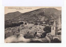 Peyruis. Vue Générale Et Clocher. (3119) - Autres Communes