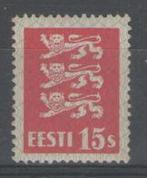 ESTONIE:  N°129 * (quasi **)      - Cote 15€ - - Estonia