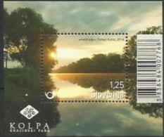 SI 2014-1070 KOLPA REGIONAL PARK, SLOVENIA, S/S, MNH - Végétaux