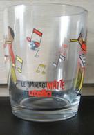 MONDOSORPRESA, BICCHIERE, BICCHIERI NUTELLA - FERRERO - LE IMMAGIMATTE (3) - Glasses