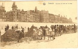 OSTENDE   --  Concours De Forts Sur La Plage - Oostende