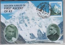Pakistan Maximum Card, K-2 Mountain,        (FDC) - Pakistan