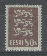 ESTONIE:  N°109 *      - Cote 13€ - - Estonia