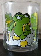 MONDOSORPRESA, BICCHIERE, BICCHIERI NUTELLA - FERRERO - RANOPLA' (8) - Bicchieri