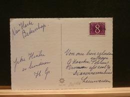 80/186  BRIEFKAART GRIFFE VISVLIET - Period 1949-1980 (Juliana)