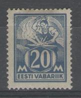 ESTONIE:  N°59 *      - Cote 23€ - - Estonia