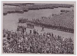 DT- Reich (002165) Propaganda Sammelbild Deutschland Erwacht Bild 76, Chemnitz 1931, Die SA Tritt An - Germany
