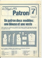 LES DOIGTS D'OR N°7 / PATRON DEUX MODELES - UNE BLOUSE ET UNE VESTE - Patterns