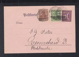 Dt. Reich PK 1922 Remscheid - Briefe U. Dokumente