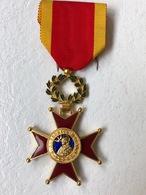 Médaille , Ordre De Saint Grégoire , Vatican ,  Dans Sa Boite D'origine - Médailles & Décorations