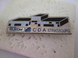 PIN'S   FRANCE TELECOM   C D A STRASBOURG - Telecom De Francia