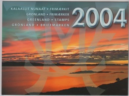 2004** (sans Charn., MNH, Postfrish)  Original Year Pack As Issued - Groenland