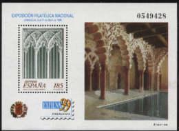 Spain 1999 - Exfilna ' 99 Ed 3625 (**) Mi BLK-74 - 1931-Hoy: 2ª República - ... Juan Carlos I