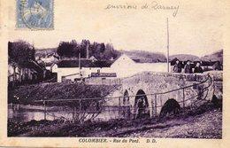 CPA - Environs De DARNE (88) - COLOMBIER - Aspect De L'entrée Du Village Par La Route Du Pont En 1930 - Autres Communes