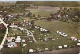 Br - Cpsm Grand Format LA LOGE (Pas De Calais) - Vue Aérienne - Camping De L'Auberge De La Forêt - France