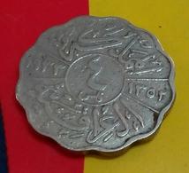 Iraq - 4 Fils - KM 97- 1933 - King Faisal I - Agouz - Iraq
