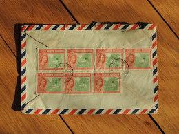 1961 - Lettre à Entête Pour Paris - 7 Timbres - FRANCO DE PORT - Bornéo Du Nord (...-1963)