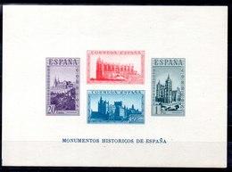 Hoja Bloque De España Nº Edifil 848 ** - 1931-50 Nuevos & Fijasellos